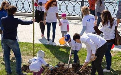 Экологическая акция по благоустройству и озеленению «Аллеи Семьи»