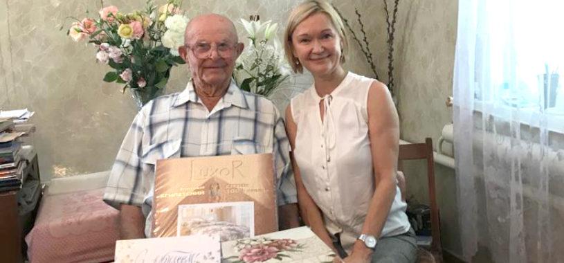 Житель Ленинского района отметил 101 день рождения.
