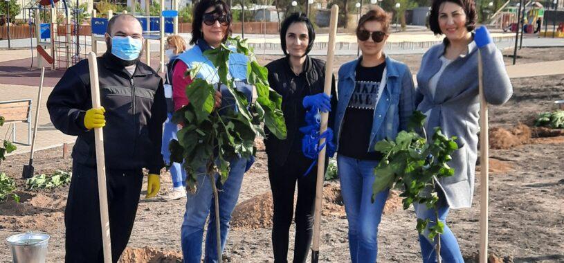 Всенародная акция «Сад Памяти»