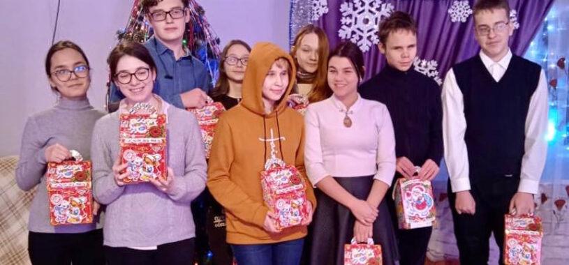 Активисты Союза поздравили «особенных детей»